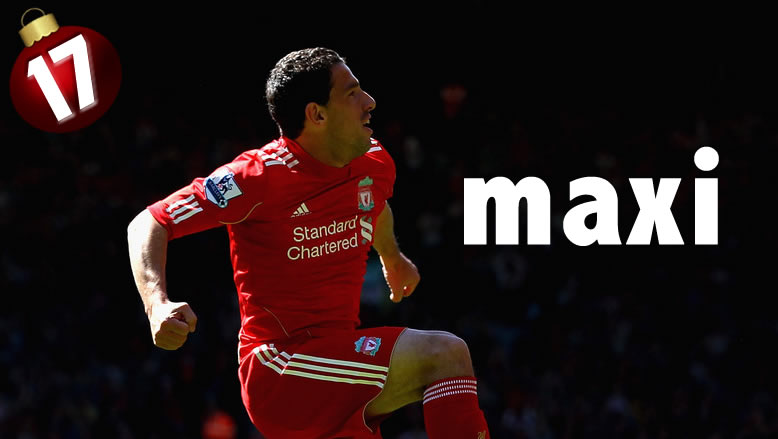 ADVENT CALENDAR DAY 17: MAXI RODRIGUEZ – THE MAN WHO RAN DOWN THE WING FOR US